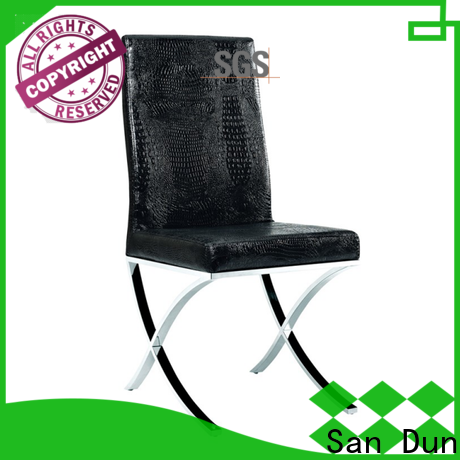 San Dun elegant simple wooden dining chairs suppliers for hotel