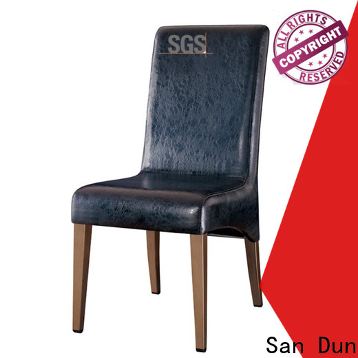 San Dun easy wooden chair factory for restaurant