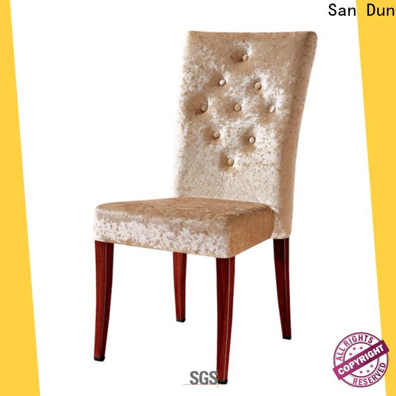 San Dun ya086 wooden kitchen chair designs manufacturer for restaurant