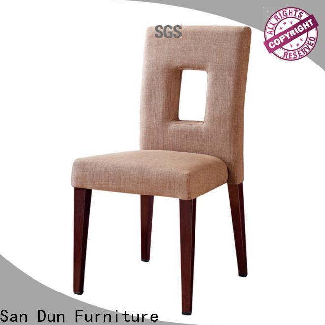 San Dun banquet easy chair wooden furniture best supplier for sale