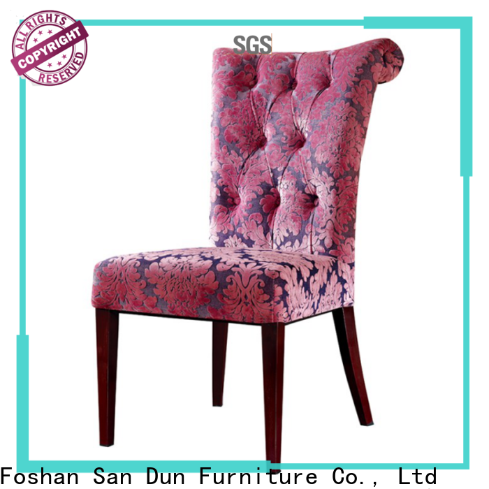 San Dun durable luxury wooden chairs manufacturer bulk production