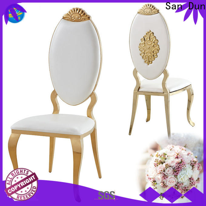 San Dun gold metal chair factory direct supply for dresser