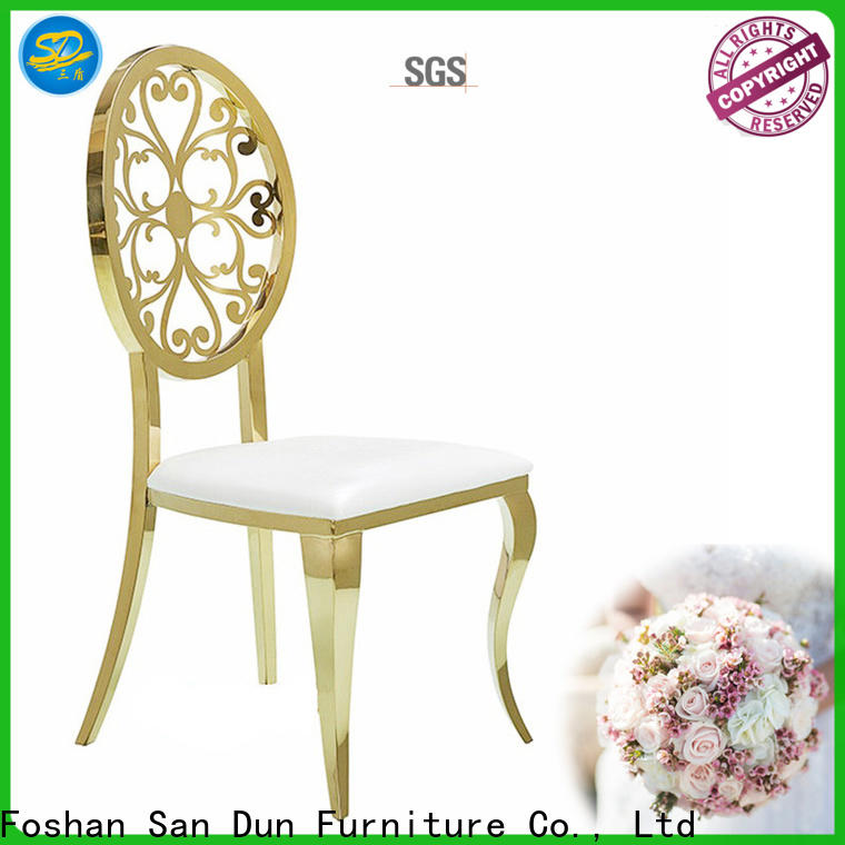 San Dun high quality stainless steel high chair from China for restaurant