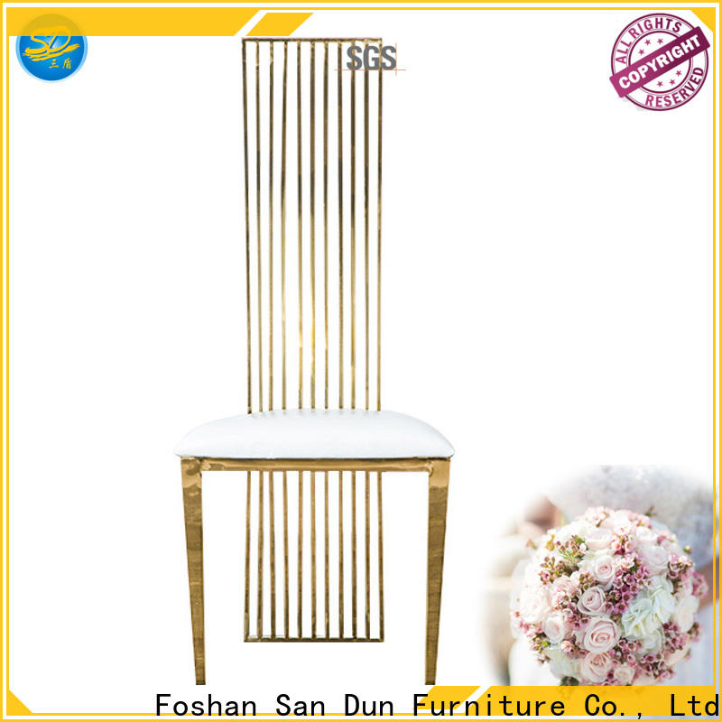 San Dun vintage metal chairs with good price for hotel