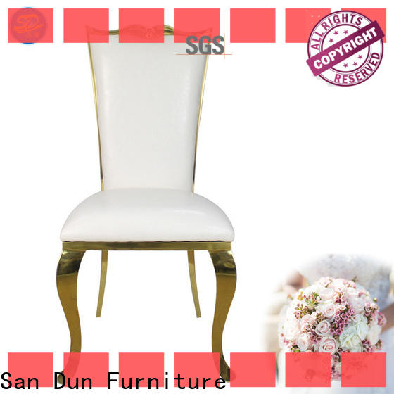 San Dun Stainless Steel Chair manufacturer directly sale bulk buy