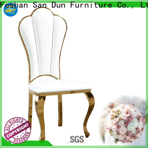 San Dun top quality dining chairs with stainless steel legs with good price for dresser