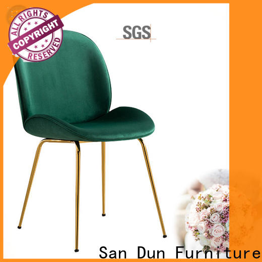 San Dun gold metal chair series for promotion