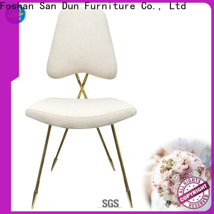 San Dun durable stainless steel chairs for sale with good price for sale