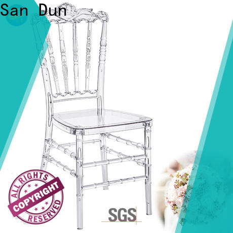 San Dun excellent stackable resin chairs supplier for dresser