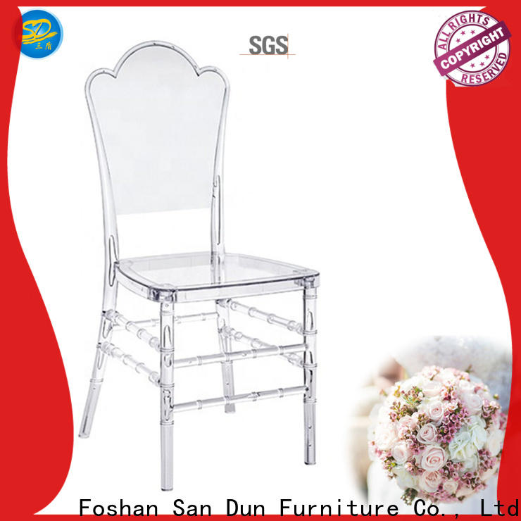 San Dun best value resin outdoor patio chairs from China for sale