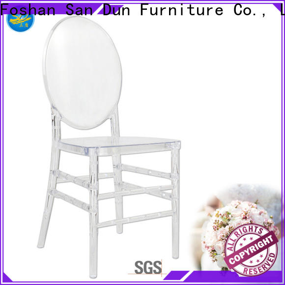 San Dun best price resin high back stacking chairs inquire now for promotion