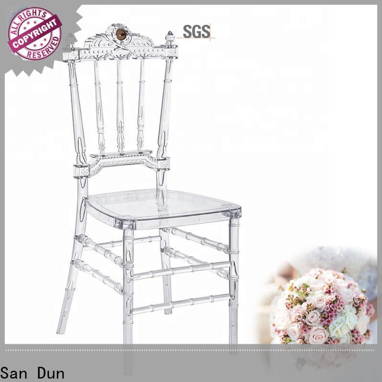 San Dun plastic resin patio chairs directly sale bulk buy