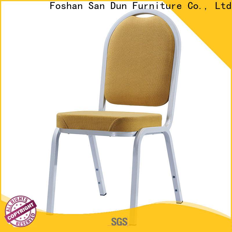 San Dun aluminum stacking patio chairs company bulk buy