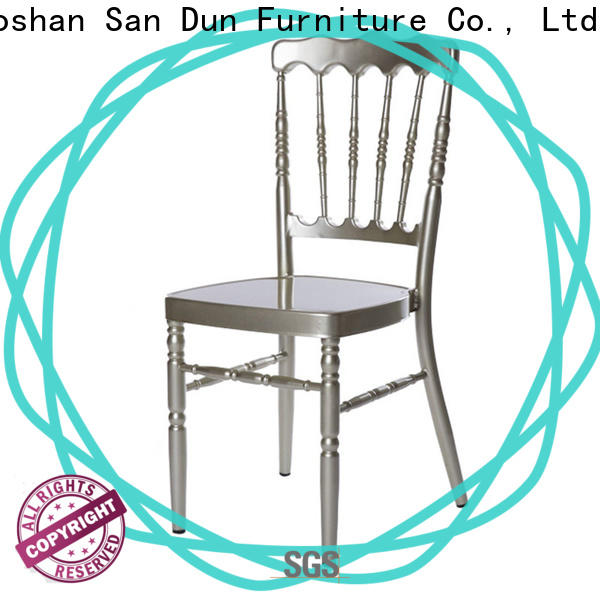 San Dun professional metal chiavari chairs factory direct supply for sale