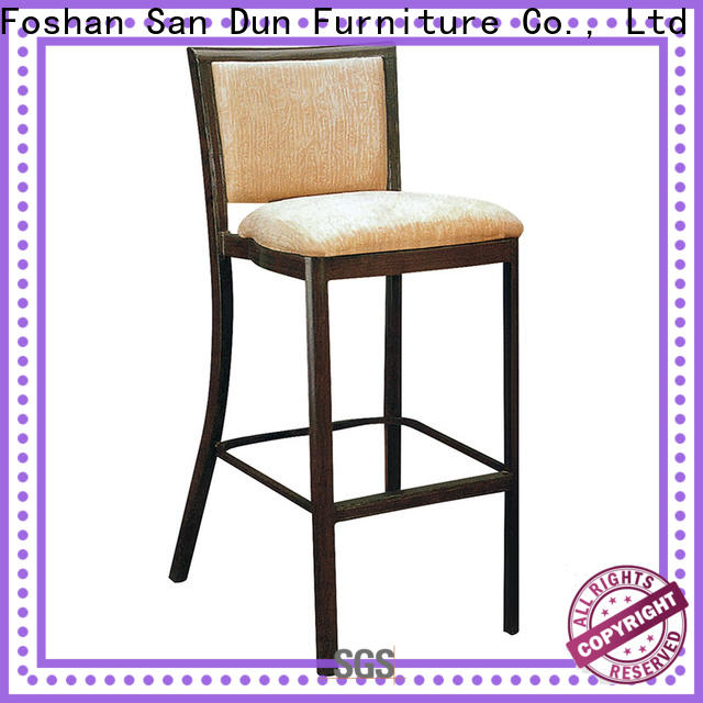 San Dun eco-friendly upholstered bar chairs series for club