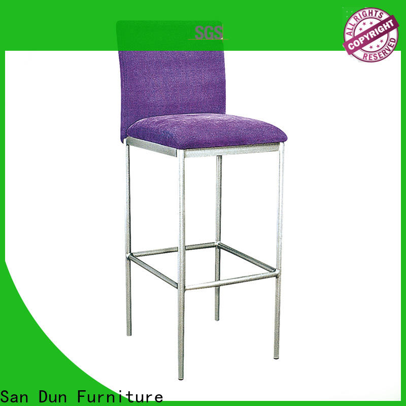 San Dun hot selling extra tall bar stools company bulk buy