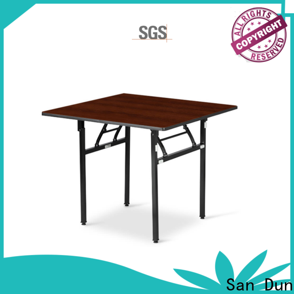 San Dun eco-friendly collapsible banquet table supply for hotel