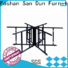San Dun eco-friendly small folding banquet tables from China for living room