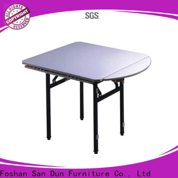 reliable wood folding banquet table company bulk production