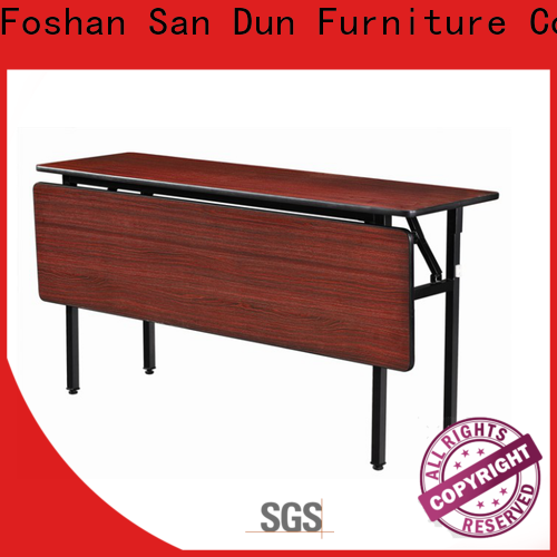San Dun promotional fold up table with good price for living room