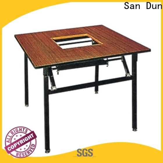 San Dun fold up table wholesale for hotel