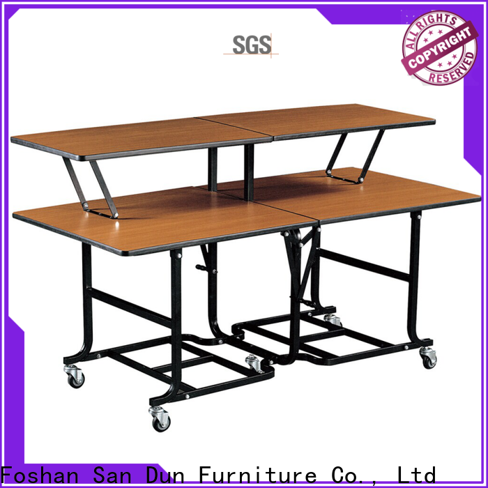 top quality folding banquet table and chairs from China for shop