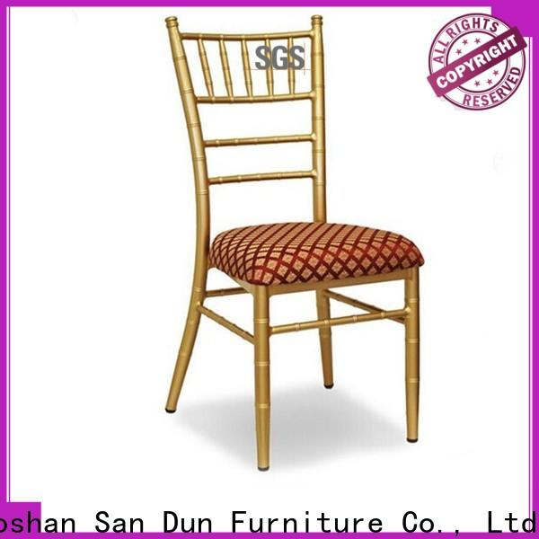 San Dun low-cost chiavari chairs wedding reception factory direct supply for sale