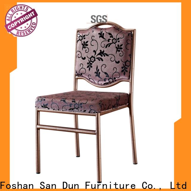 San Dun professional metal chiavari chairs from China for restaurant