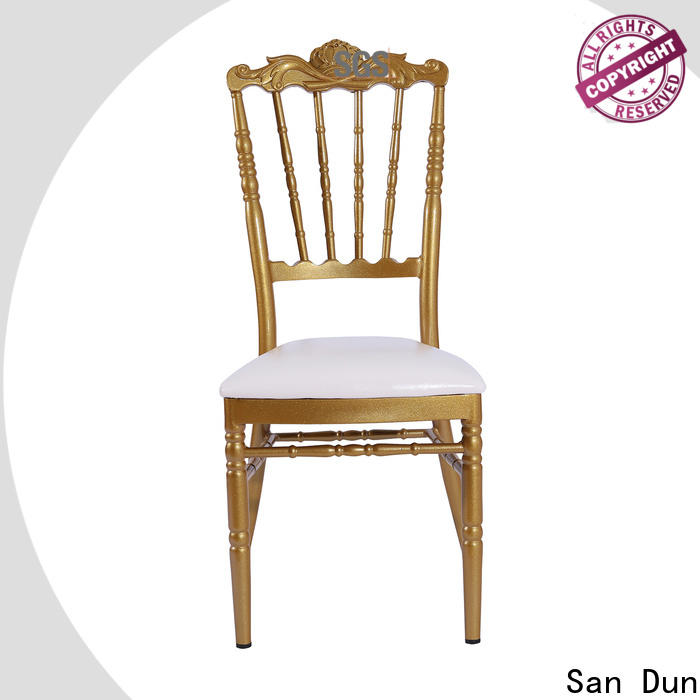 San Dun reliable chiavari chairs with cushions directly sale for promotion