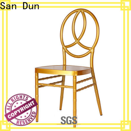 San Dun practical chiavari chairs with cushions supplier for sale