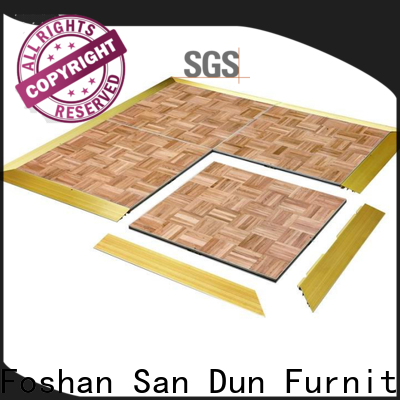San Dun low-cost movable stage platform directly sale for promotion