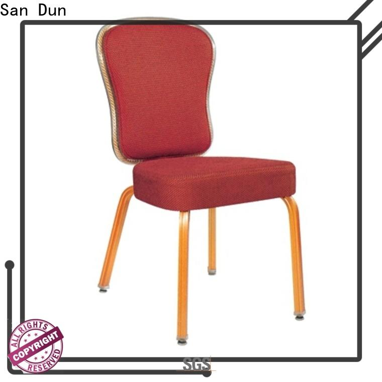 San Dun stacking banquet chairs series for hotel