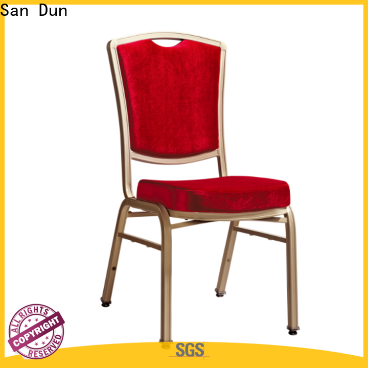 San Dun best value stacking banquet chairs best manufacturer for promotion