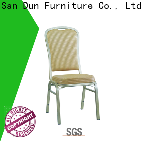 San Dun professional lightweight aluminum chairs supplier for party hall