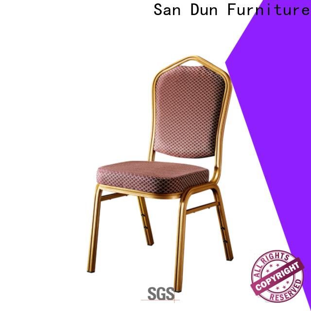 elegant aluminum dining chairs company for restaurant
