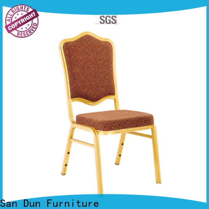 San Dun cost-effective aluminium chair from China for party hall