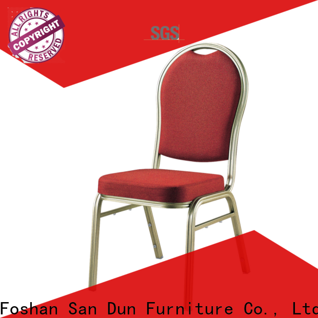 San Dun latest aluminum patio dining chairs supplier for promotion