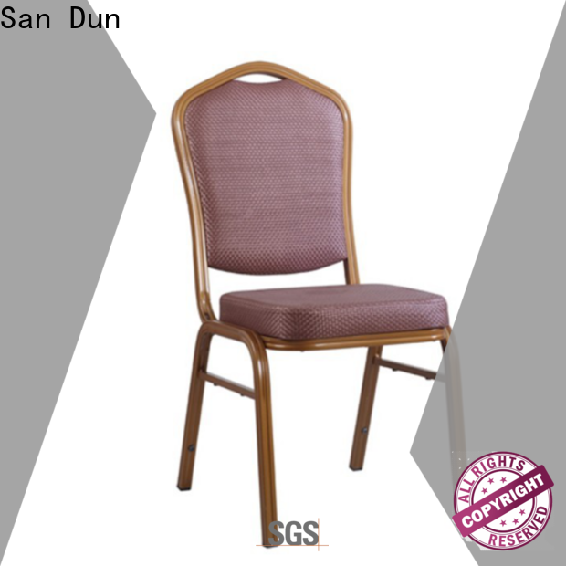 San Dun best chair aluminum factory direct supply for party hall