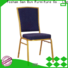 top selling metal chairs with cushions manufacturer for promotion