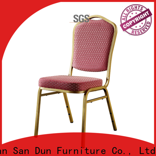 San Dun best price steel leg chair series for promotion