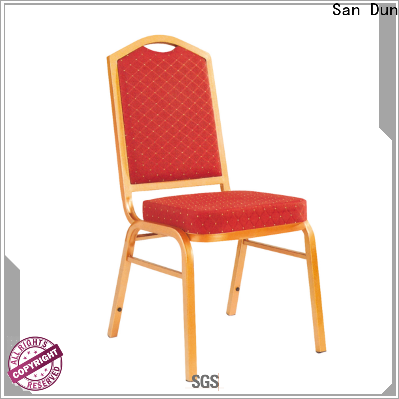 San Dun steel chairs for home wholesale for restaurant