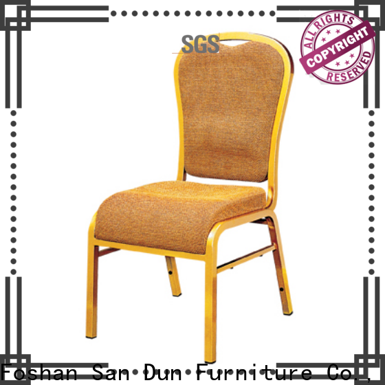 San Dun high quality steel chair for dining table wholesale for cafes