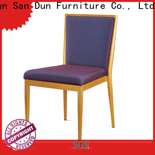 San Dun stackable steel chairs suppliers for sale