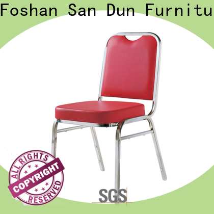 San Dun steel round chair manufacturer for promotion