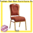 San Dun metal chairs with cushions best supplier bulk production
