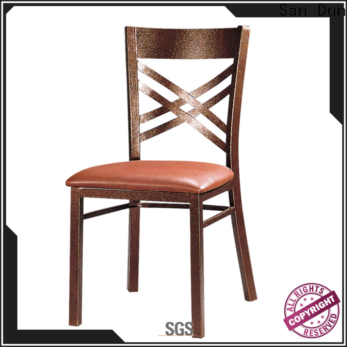 new modern steel dining chairs supply for cafes