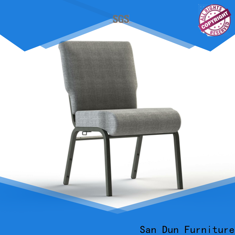 San Dun steel round chair directly sale for cafes
