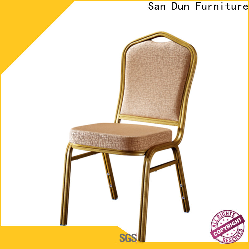 San Dun aluminium office chair wholesale for party hall