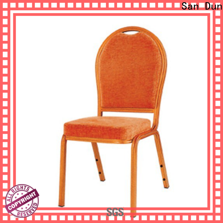 practical aluminum cafe chairs supplier for conference