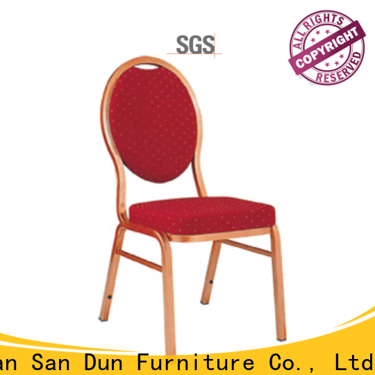 factory price lightweight aluminum chairs manufacturer for hotel banquet